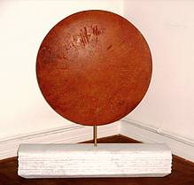 """Skulptur """"Ode an die Sonne"""" von Katrin Pfister-Rosenzweig"""