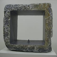 Skulptur Omphalos von Peter Rosenzweig